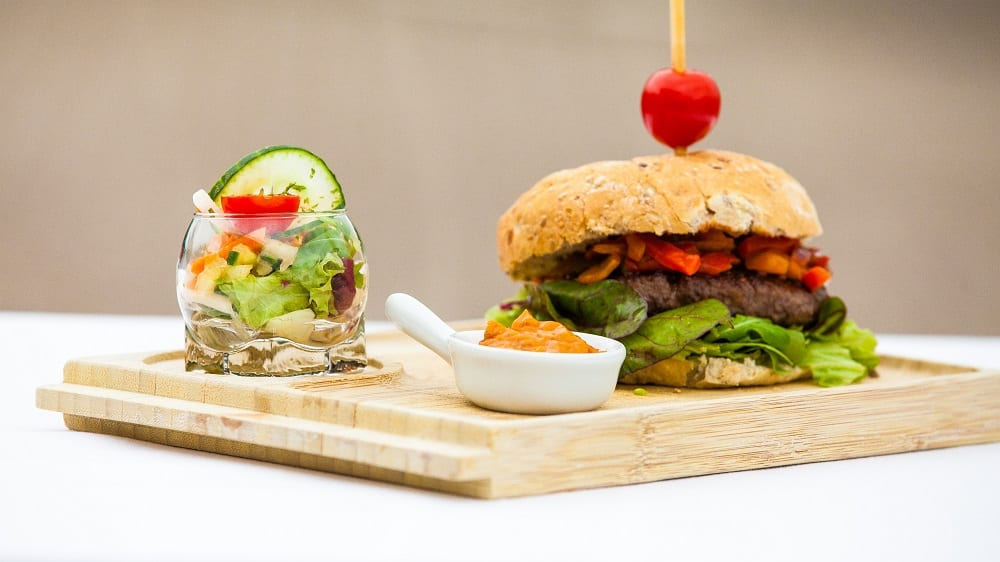 Boeren hamburger