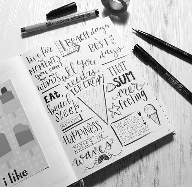 Weistaar workshop lettering